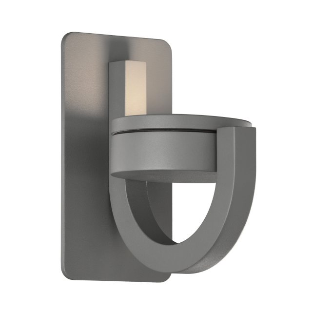 Lugo swivel anthracite outdoor wall light