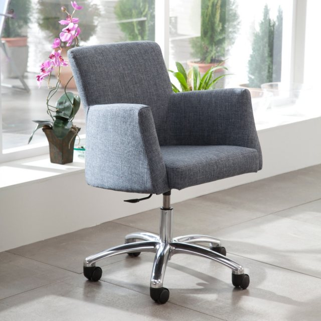 Fama Elvis leather office chair