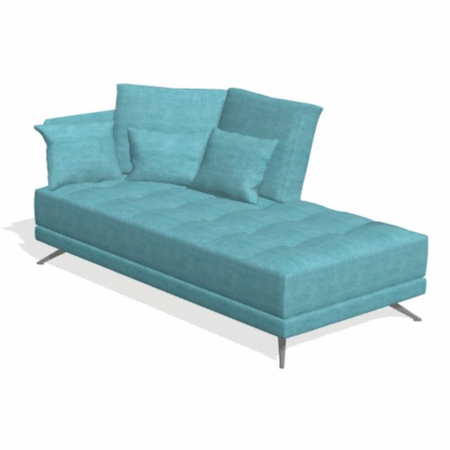 Fama Pacific 3 seater chaise