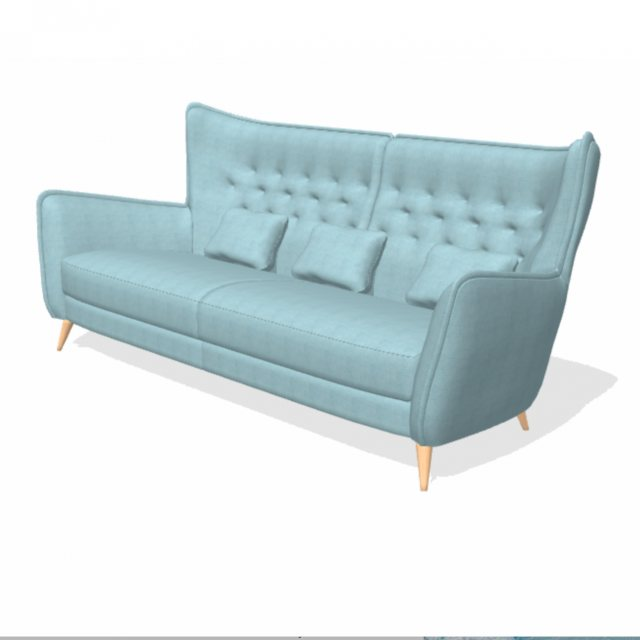 Fama Simone 4 seater in two pieces