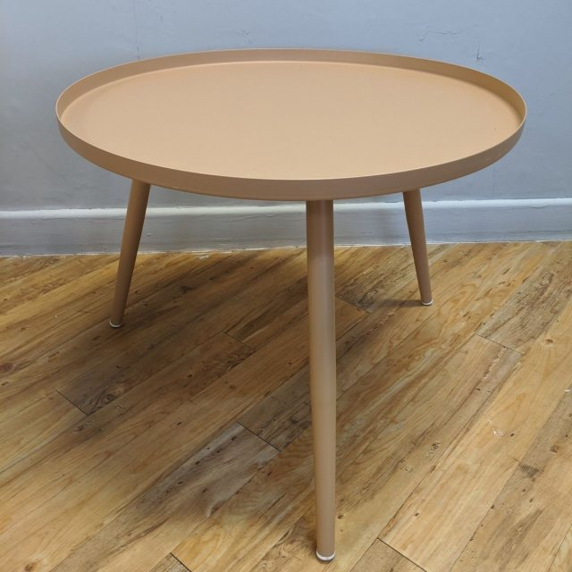 Sand colour side table