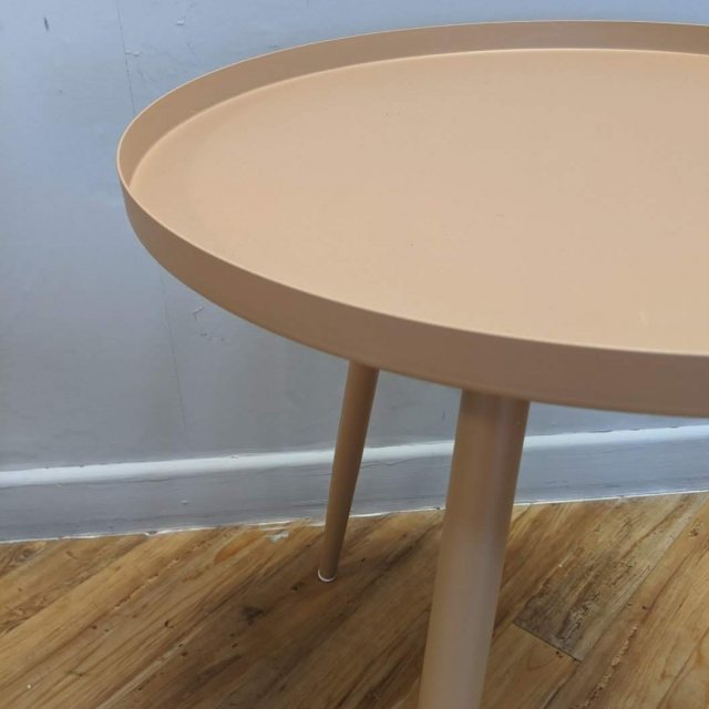Sand medium side table