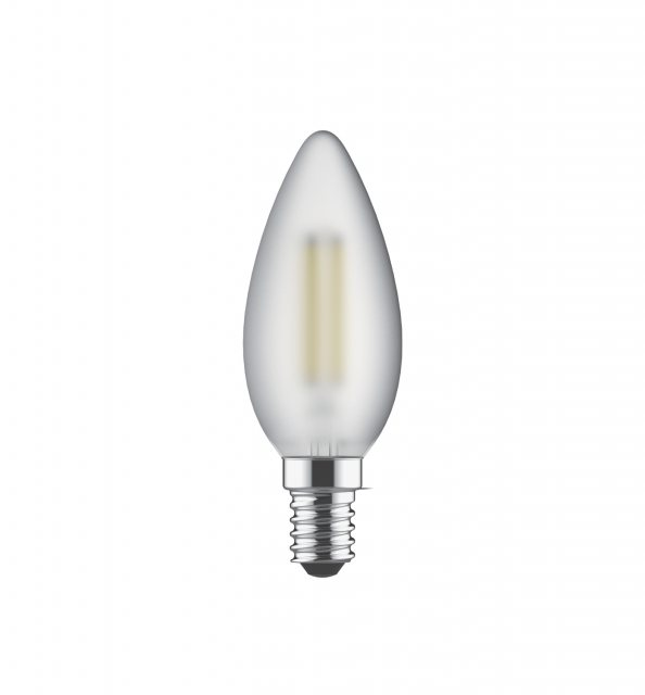 Julia Jones E14 LED Candle 2700k 470lm frosted lamp