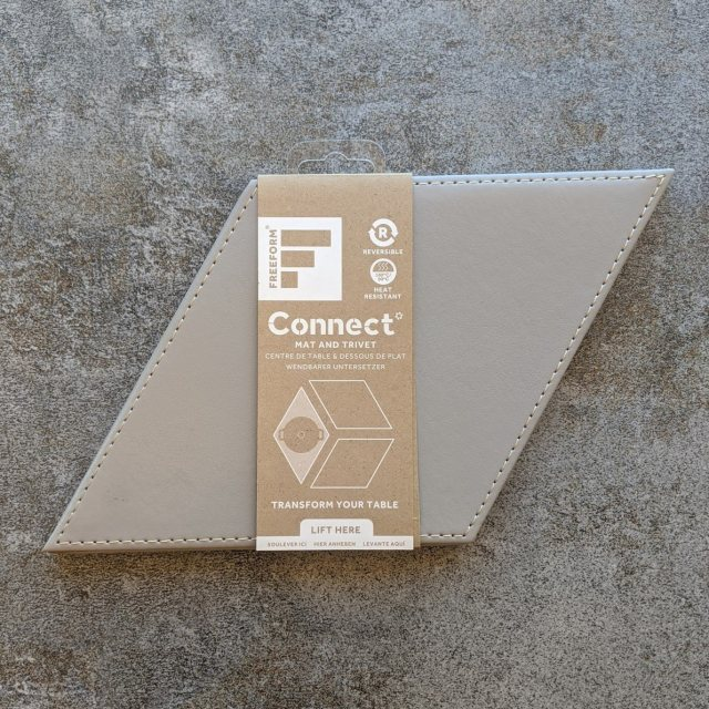 Connect mat/trivet diamond grey