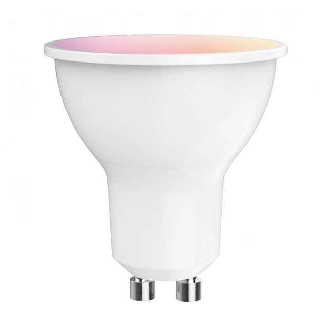 Julia Jones Digit WiFi GU10 LED Smart Lamp 5w 300lm RGB/2700-6400k with app control & voice control