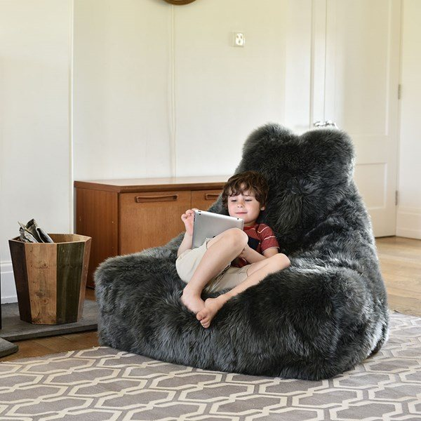 Julia Jones Fur Beanbag