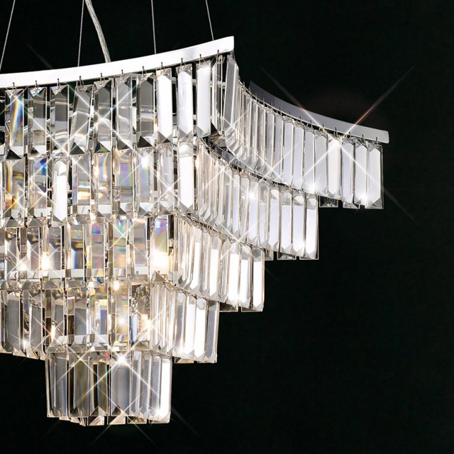 wow crystal ceiling light