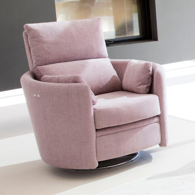 Fama swivel recliner