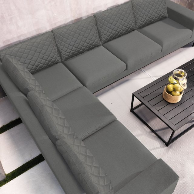 Modern outdoor garden lounge set