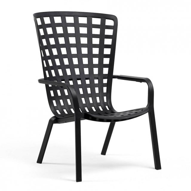 Nardi Folio outdoor armchair anthracite