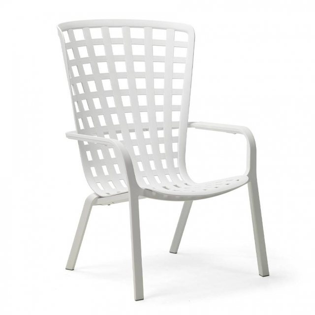 Nardi Folio outdoor armchair white