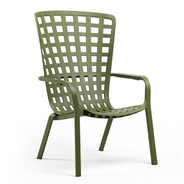 Nardi Folio outdoor armchair green