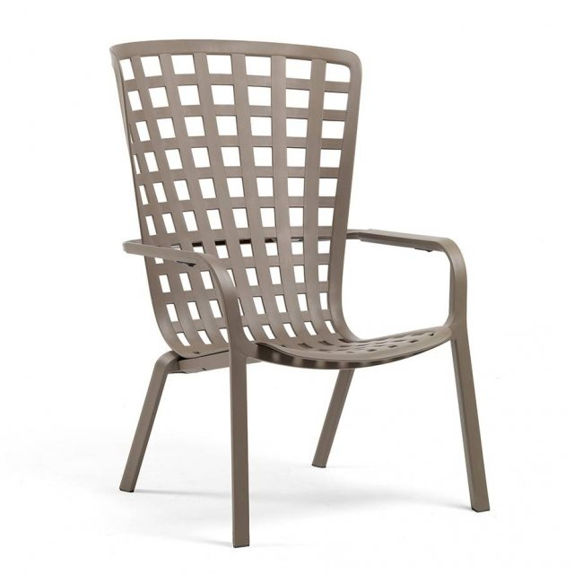 Nardi Folio outdoor armchair taupe