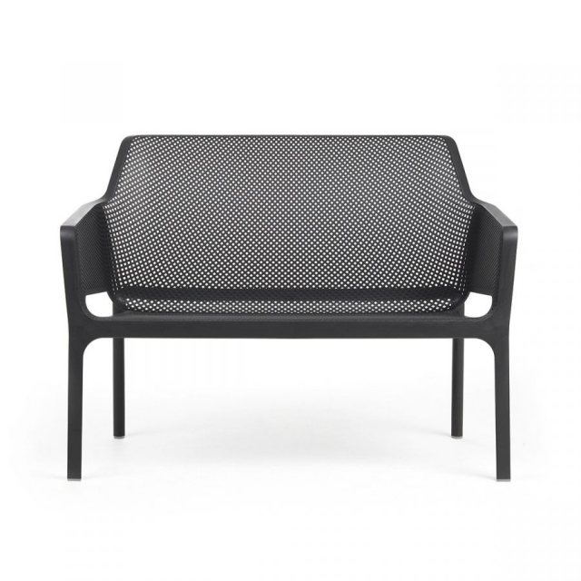 Nardi Net outdoor bench anthracite