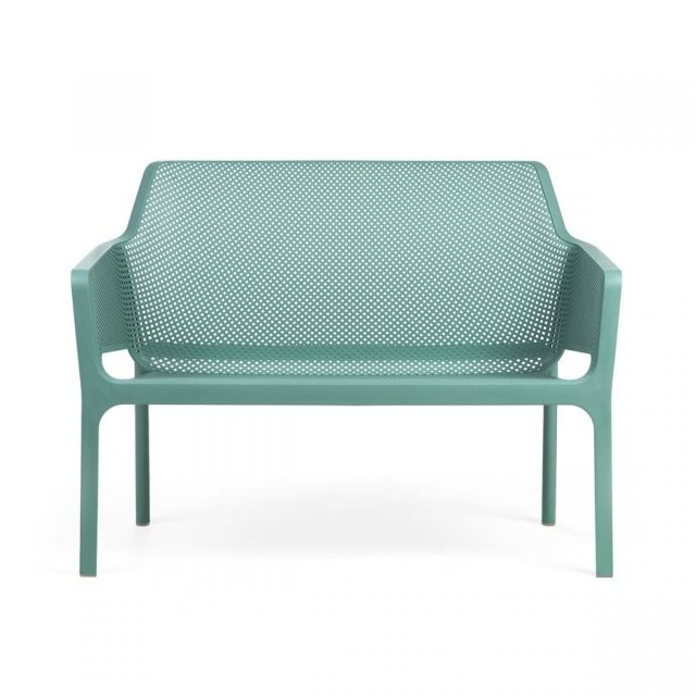 Nardi Net outdoor bench turquoise