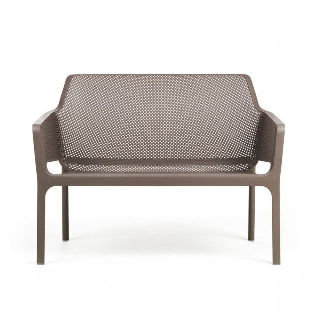 Nardi Net outdoor bench taupe