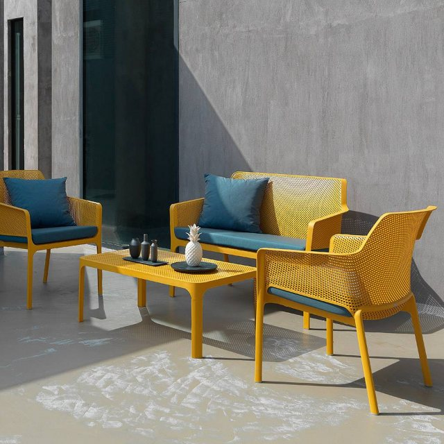 Nardi Net outdoor relax collection mustard