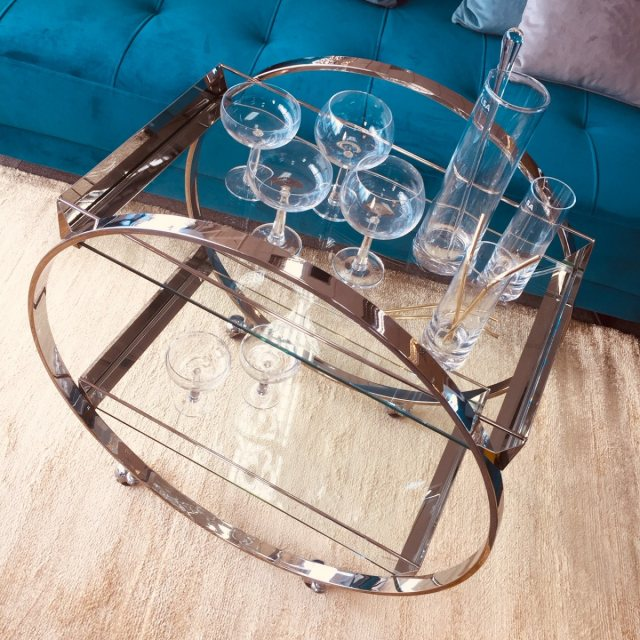 Julia Jones Orkney Drinks Trolley