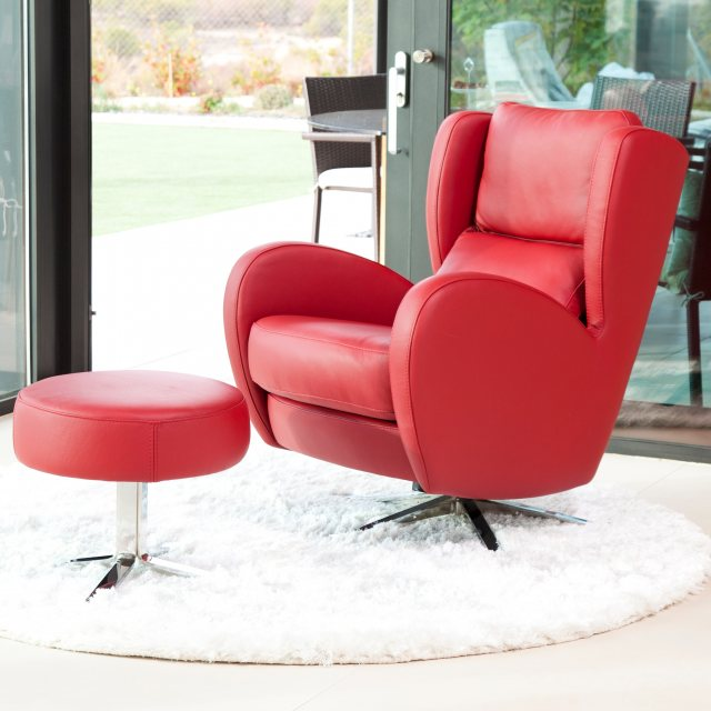 Fama Romeo Leather recliner chair