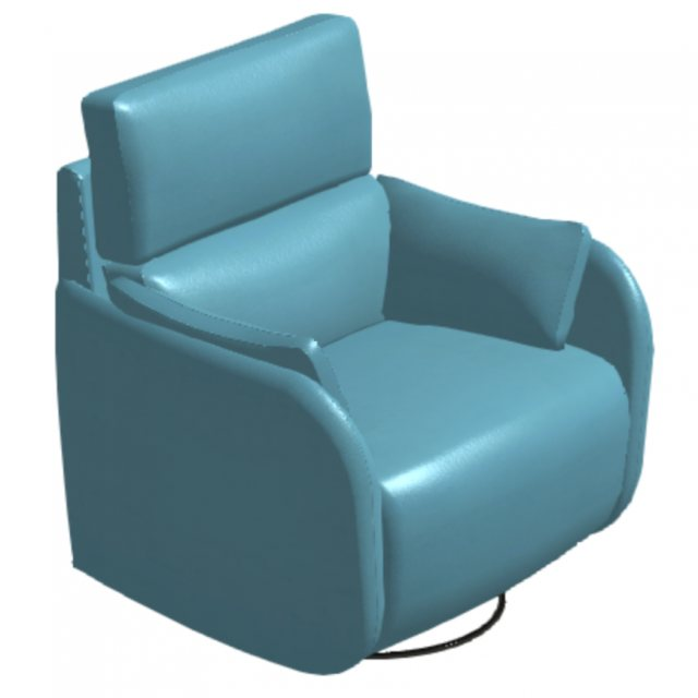 Fama Adan XL leather recliner armchair