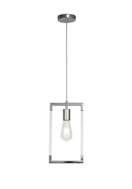 Civis nickel single pendant light