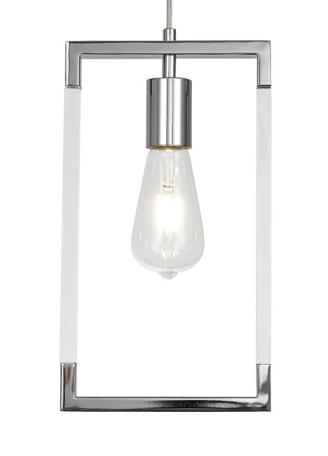Julia Jones Civis nickel single pendant light