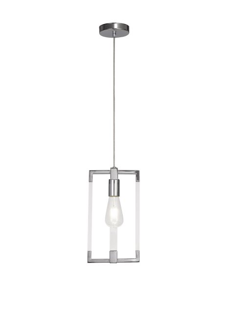 Civis nickel quad pendant light