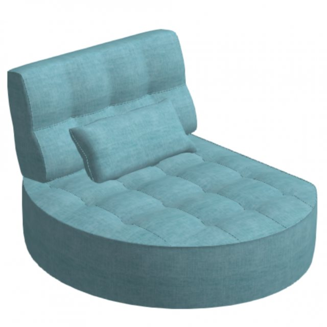 Fama Fama Arianne Love Round Chaise Left Y1 Module