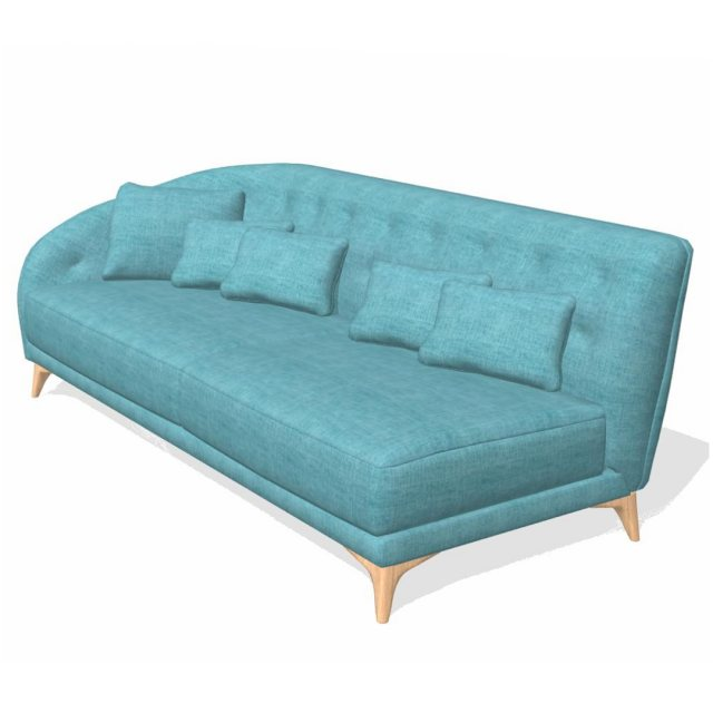 Fama Fama Astoria fabric 3 seater left arm MBX1 Module