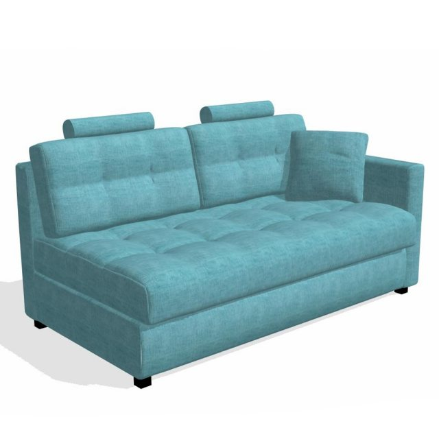 Fama Fama Bolero 3 seater sofabed right straight arm module
