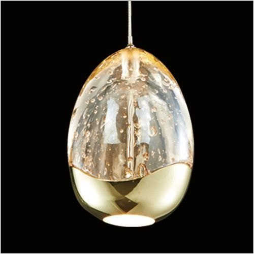 Julia Jones Modica 1L gold pendant