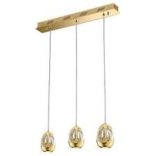 Julia Jones Modica 3L gold bar pendant