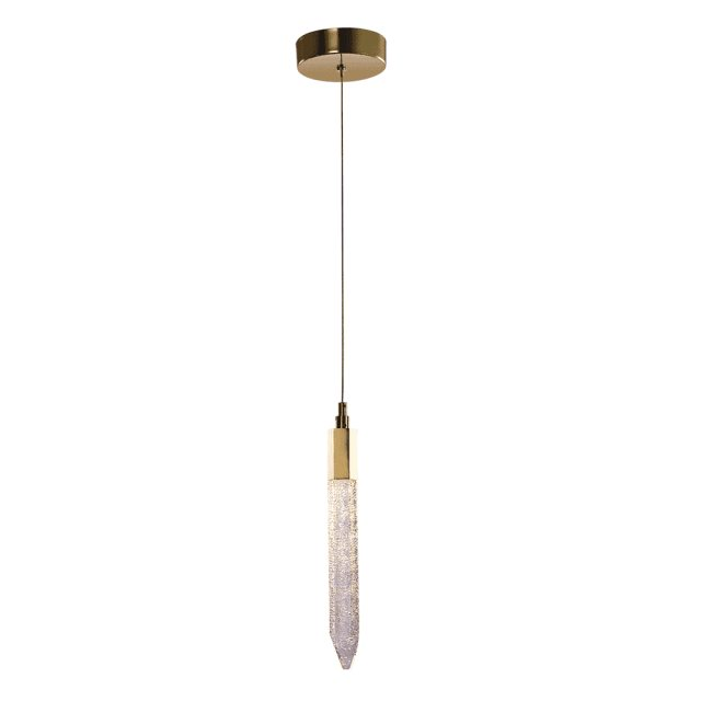 Julia Jones Anzio 1L gold pendant