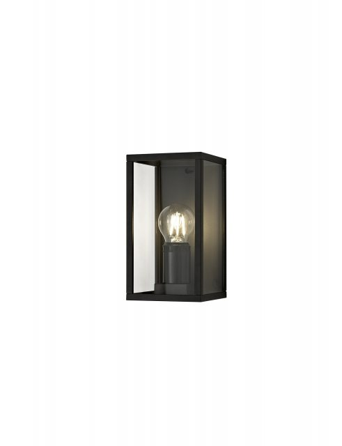 Mozota Coastal outdoor graphite box wall light