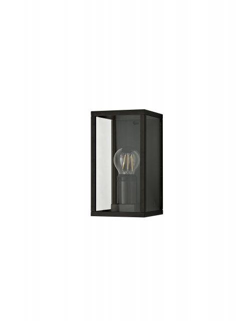 Julia Jones Mozota Coastal outdoor graphite box wall light