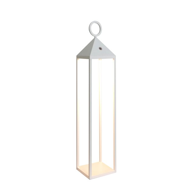 Julia Jones Large carrige lantern white