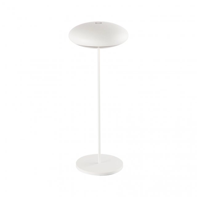 Julia Jones Saucer table lamp white