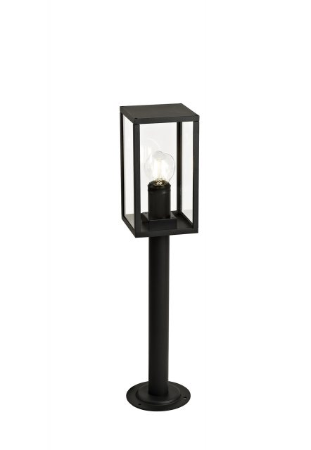 Mozota Coastal outdoor graphite low box post light