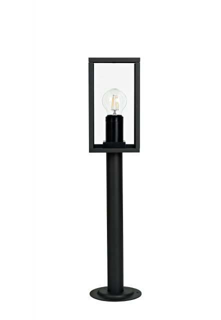 Julia Jones Mozota Coastal outdoor graphite low box post light