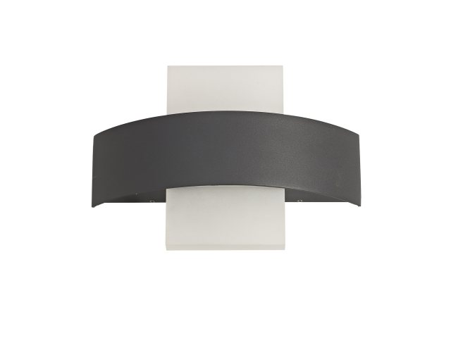 Julia Jones Lastor coastal Outdoor Anthracite Wall Light